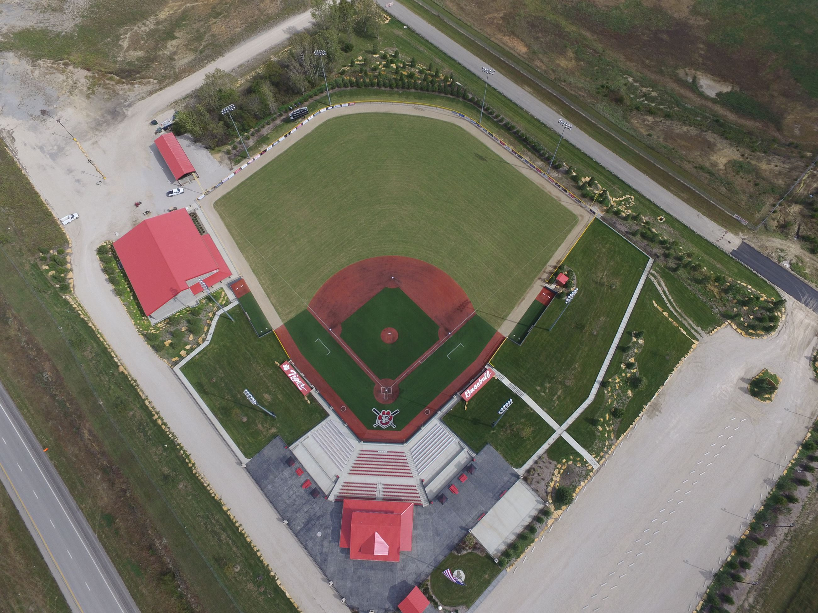 Aerial View of LaRoche Complex